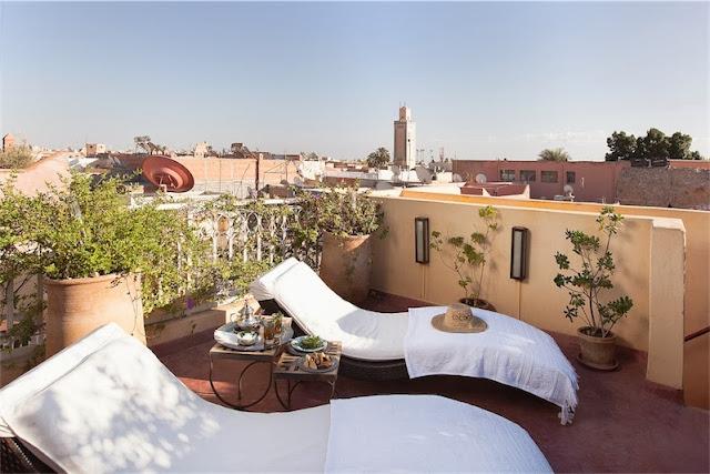 terraza Riad Cocoon
