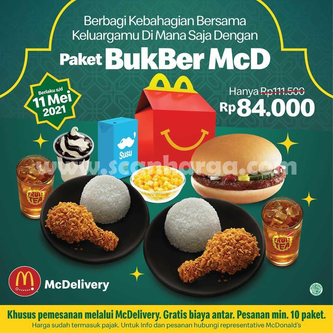 Promo McDonalds Paket Bukber McD harga Hanya Rp84.000