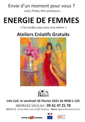 Atelier ENERGIES DE FEMMES - REFLET 31