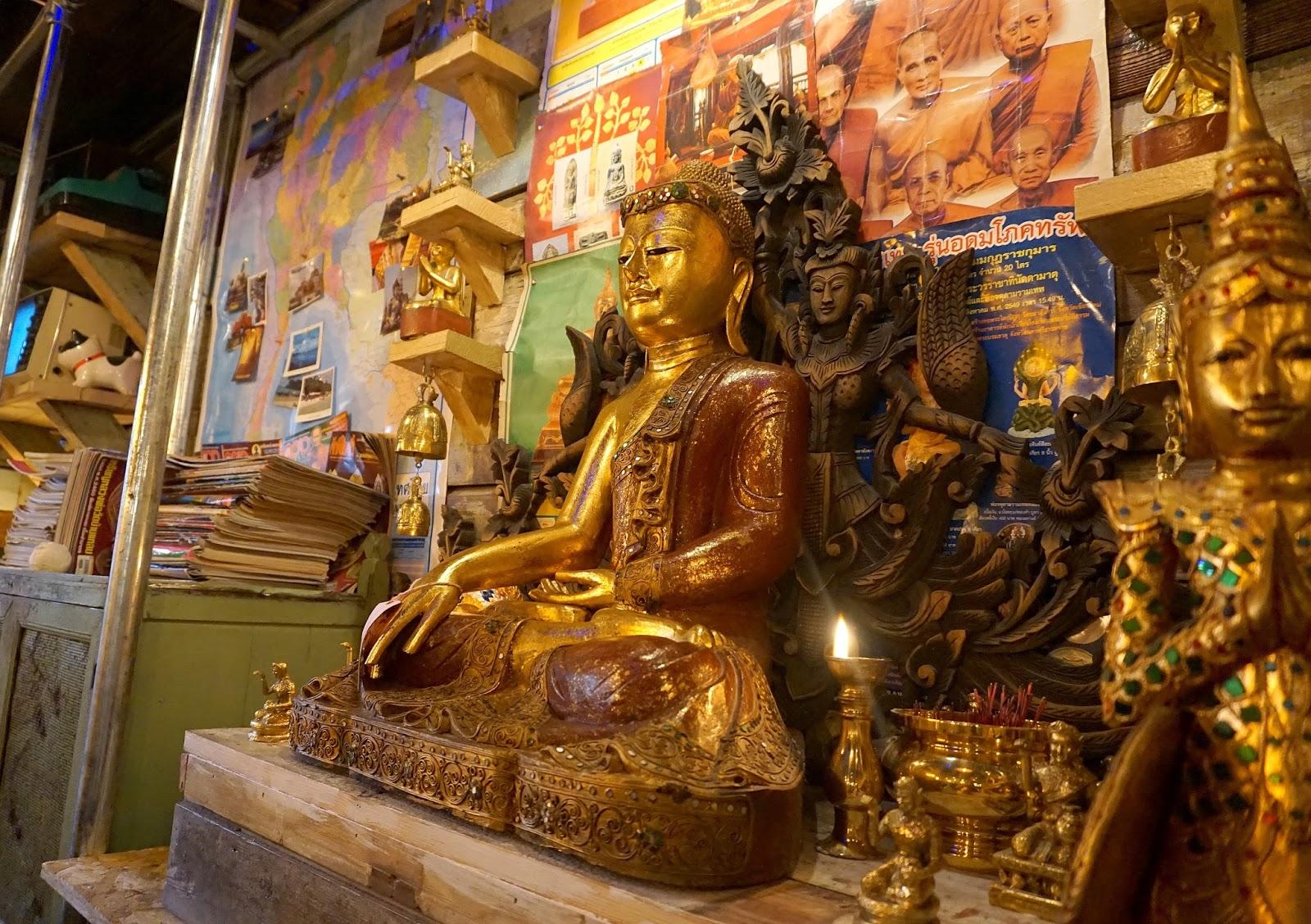 Thaikhun Silverburn Buddha