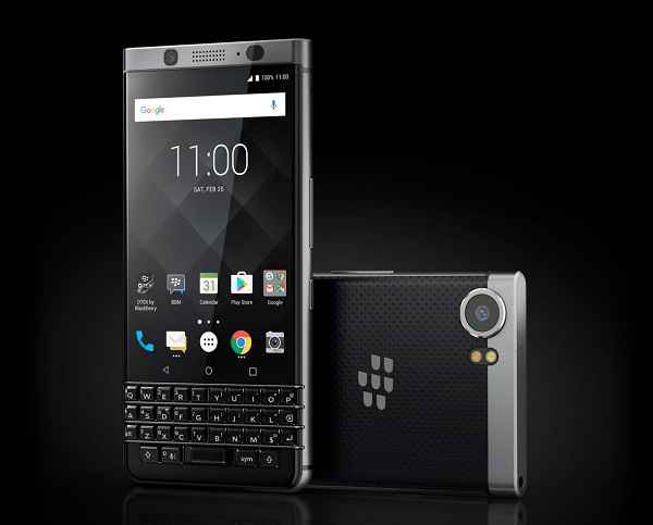 MWC 2017: BlackBerry KEYone with 4.5-inch display, QWERTY keyboard, Fingerprint sensor and Android 7.1 Nougat announced