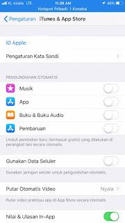 Tidak Dapat Update di Appstore
