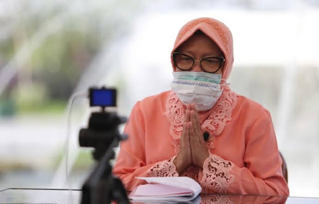 Risma Pamit, Ini Pesannya untuk Warga Surabaya