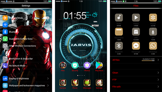 Oppo Theme: Oppo Ironman Theme