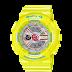 นาฬิกาข้อมือผู้หญิง CASIO สีเหลือง นาฬิกา BABY-G BA-110CA-9A สายเรซิน