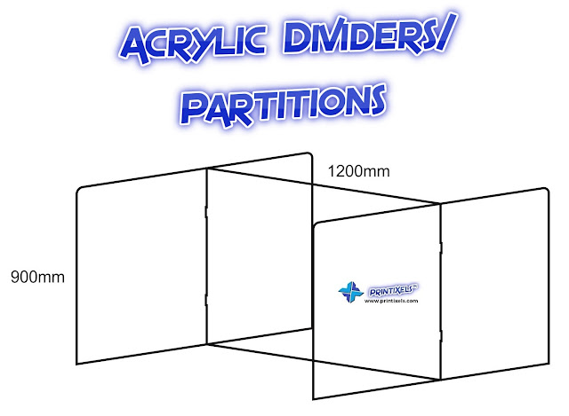 Acrylic Dividers/Partitions