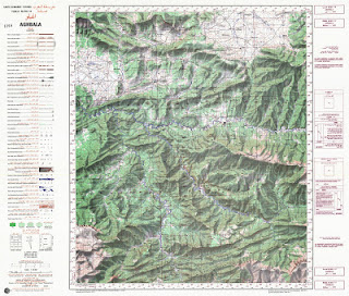 Aghbala Morocco 50000 (50k) Topographic map free download
