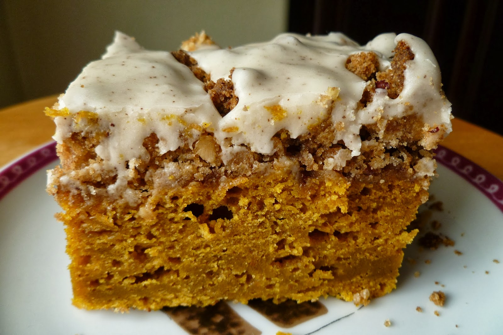 pumpkin coffee cake the pastry chef s baking pumpkin coffee cake with brown 6851