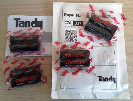 Tandy batteries