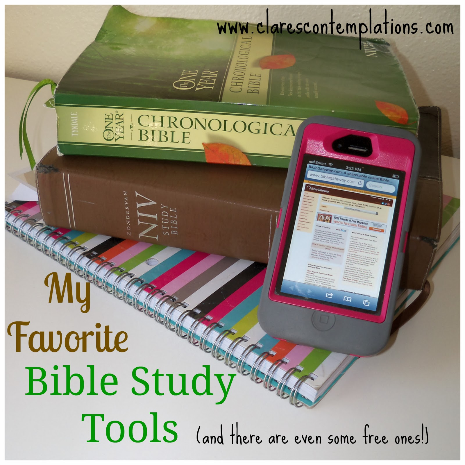 Bible study tools niv