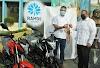 Grupo Ramos dona motocicletas a la Alcaldía de SDN para reforzar seguridad ciudadana
