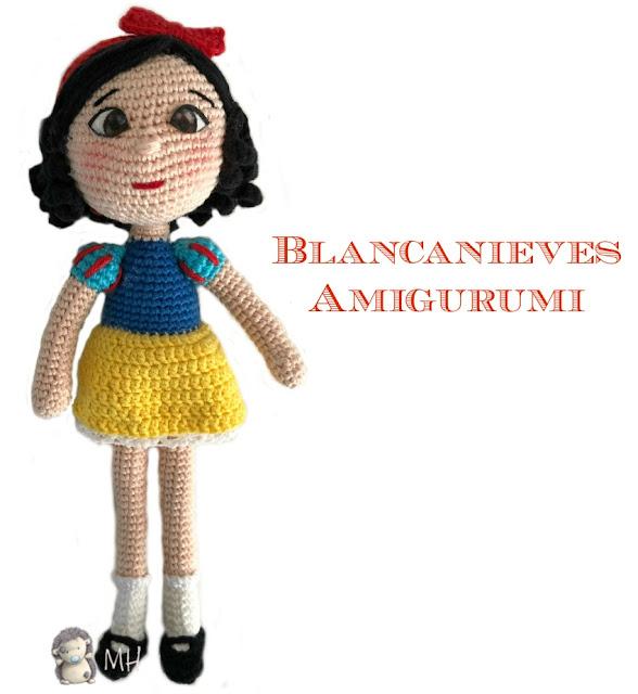 Blancanieves amigurumi