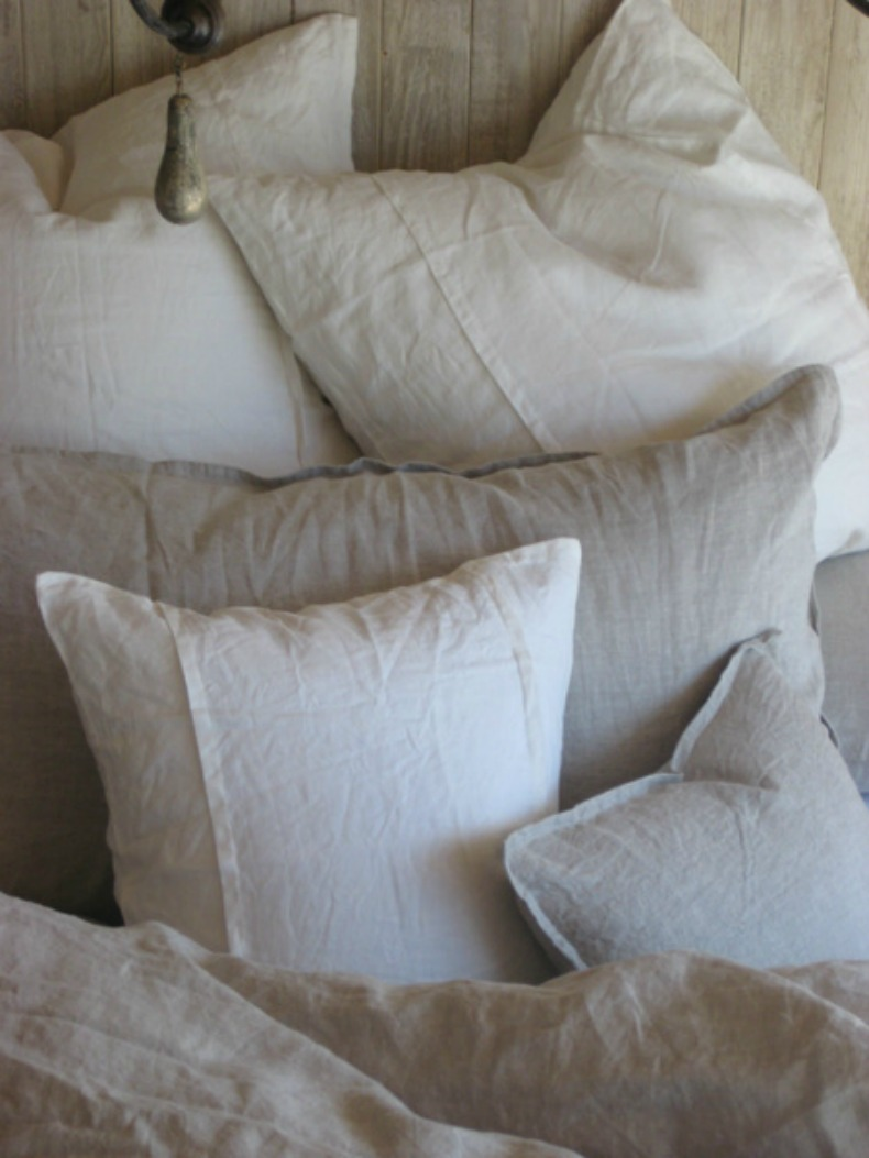 coastal bedding and pillows from Our Boat House