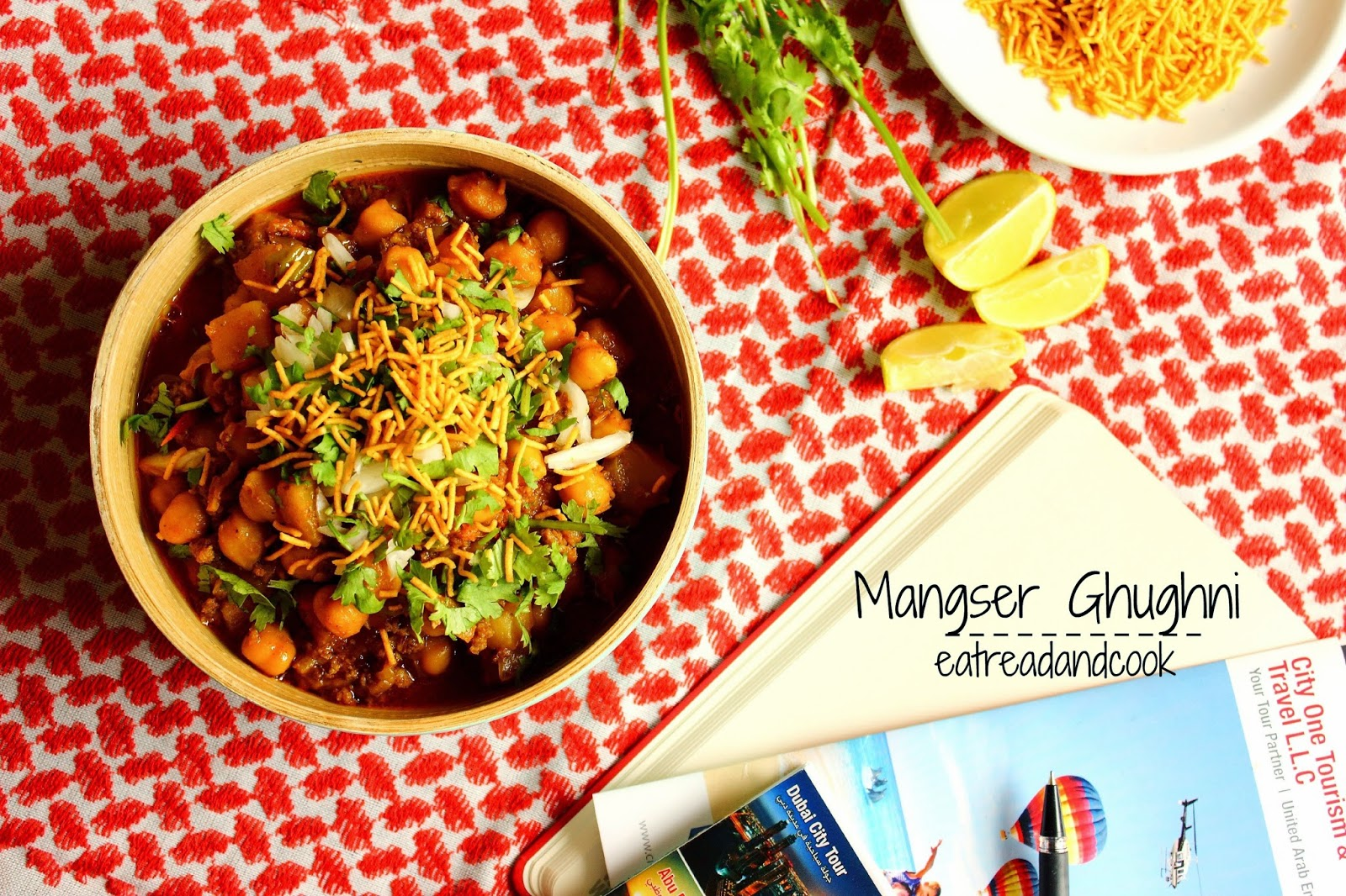 how to cook Mangsher Ghugni