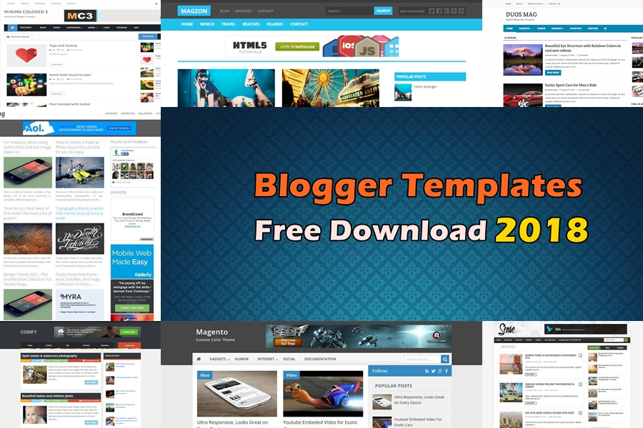 best blogger templates free download 2018