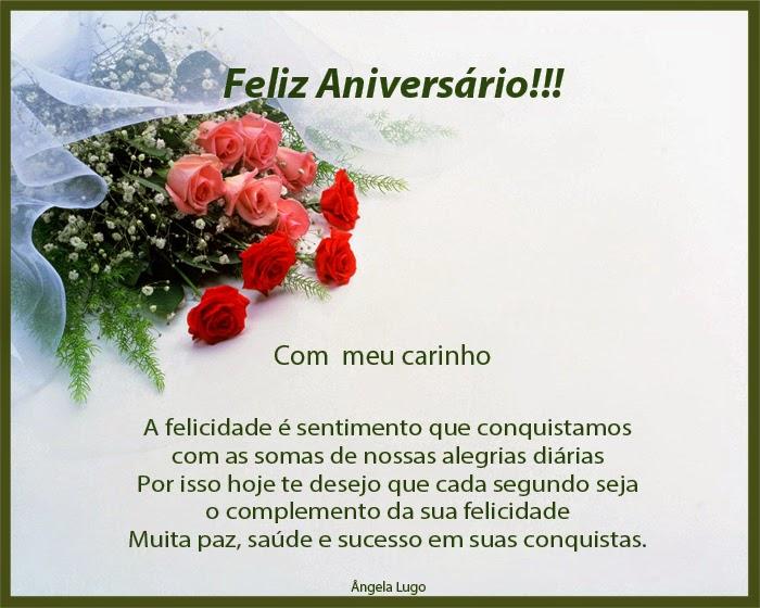 Poemas De Aniversario Para Amiga: FELIZ ANIVERSÁRIO!!! - Poemas De Amor
