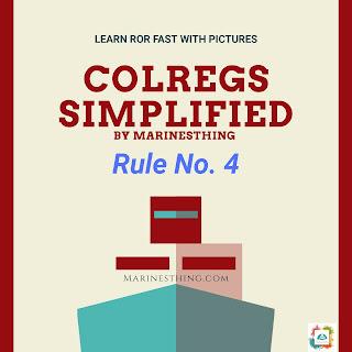 Rule 4// COLREGS Simplified// Learn ROR Fast