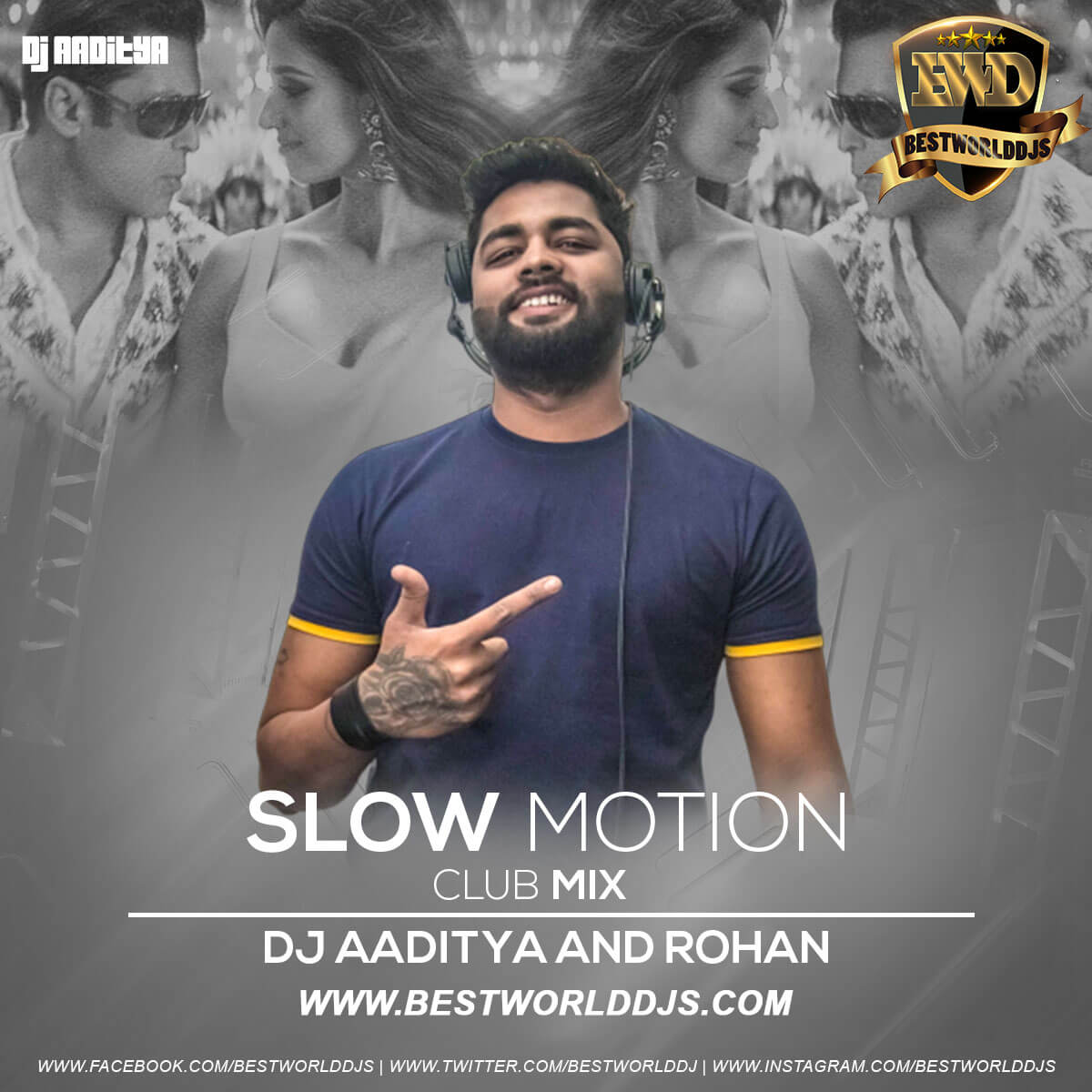 Slow Motion Club Mix DJ AADITYA DJ ROHAN