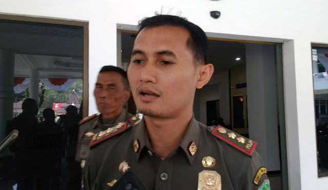 Plt Kepala Satpol PP Erik Kurniawan Satrio Andy