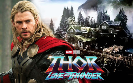 Fresh Look at New Asgard set footages for Thor Love and Thunder movie