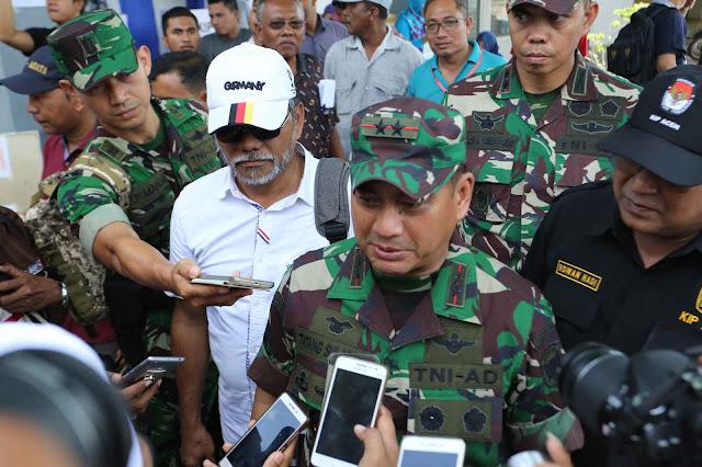 Pangdam IM Mengajak Masyarakat Berbondong- Bondong ke TPS