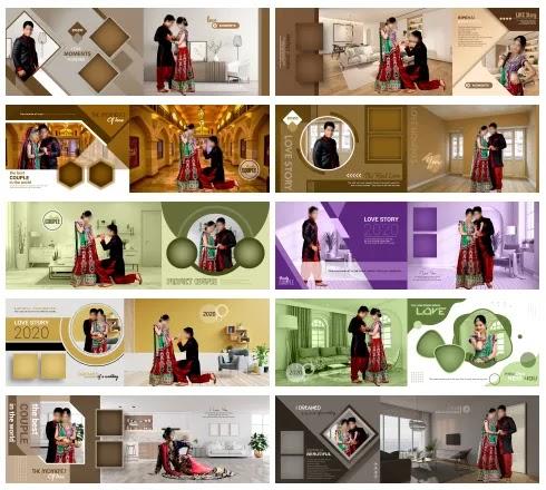 Top 80+ Wedding Album DM Design PSD Free Download