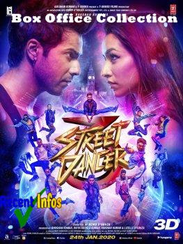Street Dancer 3D Bollywood Movie Box Office Collection