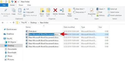 Cara Cepat Mengubah Nama File yang banyak sekaligus