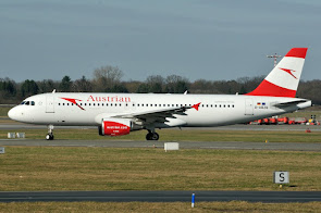 A320 AUA leased from Air Berlin