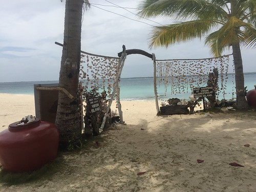 Native decors at Virgin Island in Bantayan Island