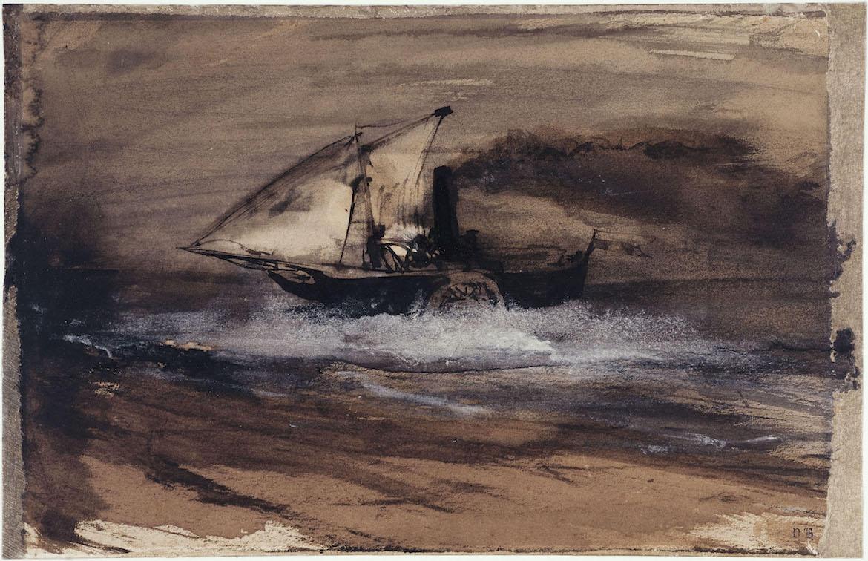 Peinture De Victor Hugo Ma Destinee