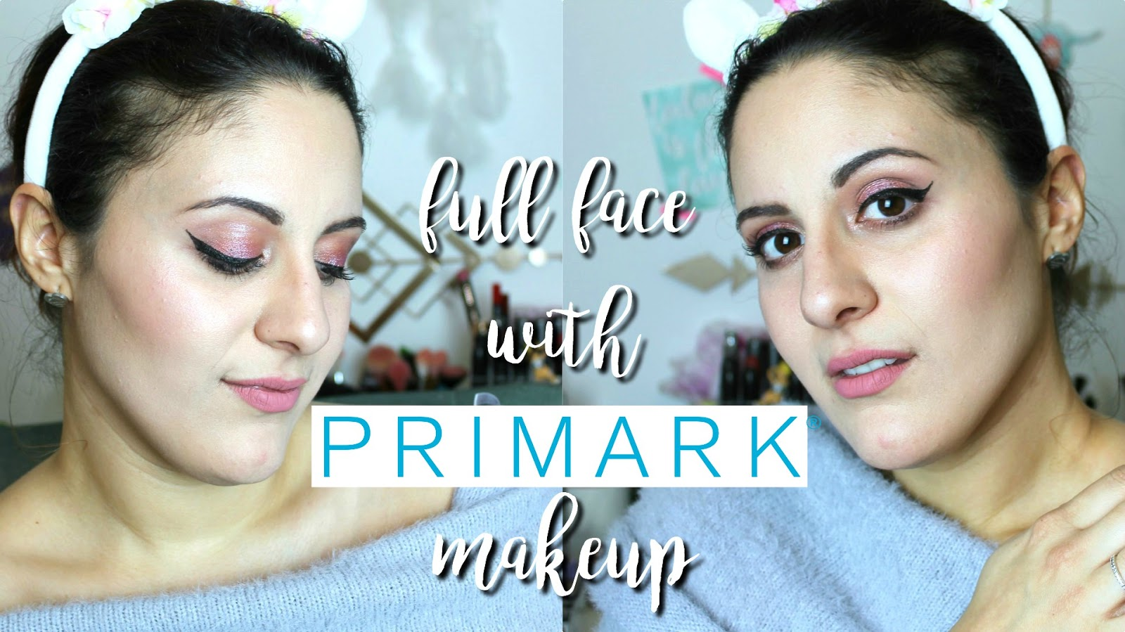 FULL FACE OF FIRST IMPRESSIONS : PRIMARK MAKEUP !