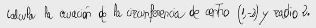 1. Ecuación de una circunferencia 1