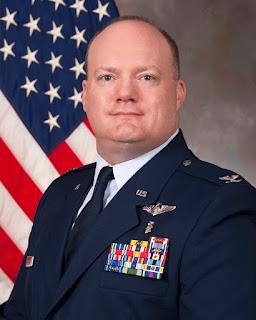 Air Force Col John Williamson, (USU Photo by Thomas Balfour)