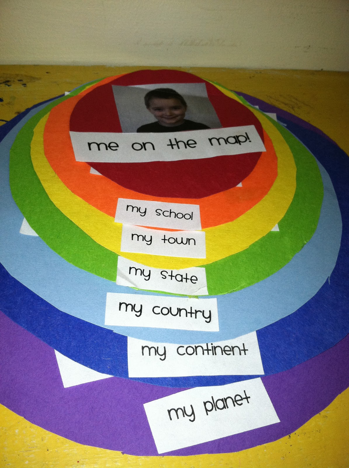 Tales From A K 1 Classroom Maps And 8 Kinds Of Smart A
