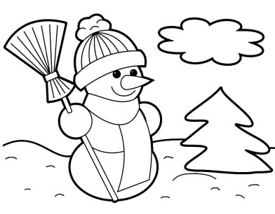 Disney Christmas Coloring Pages printable for  Preschoolers