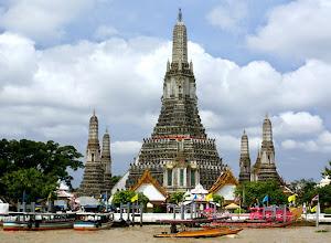 wisata wat arun thailad