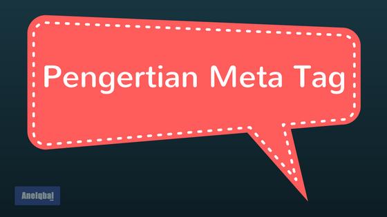 pengertian meta tag html
