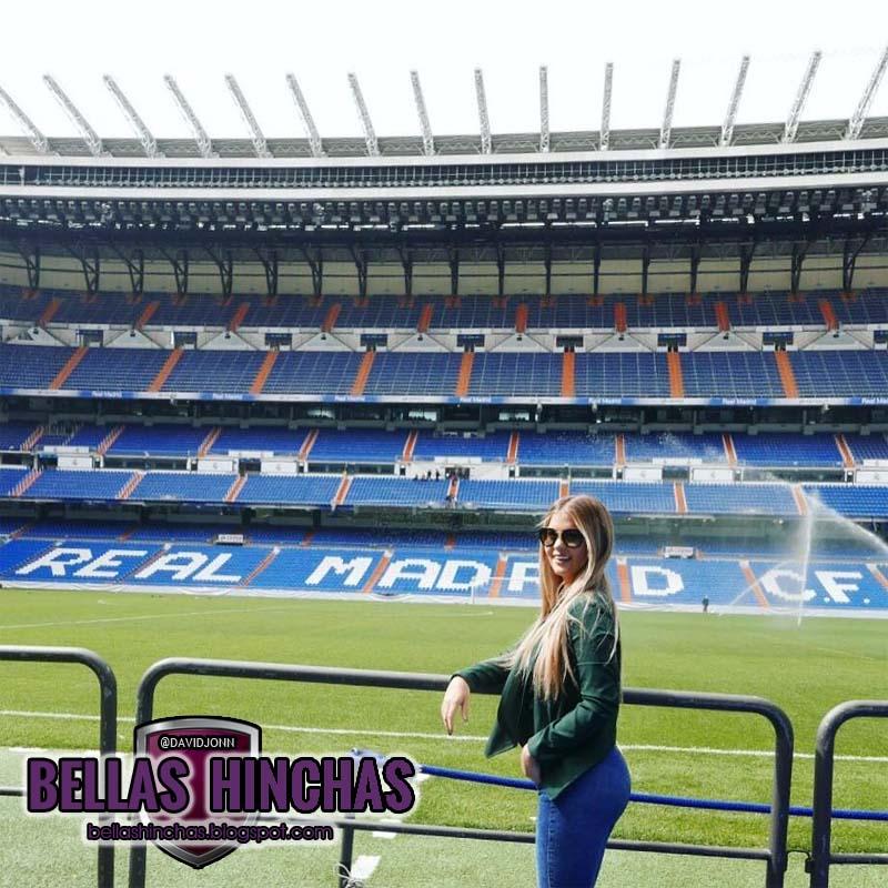 Brunella horna brunehorna en el estadio santiago for Estadio bernabeu puerta 0