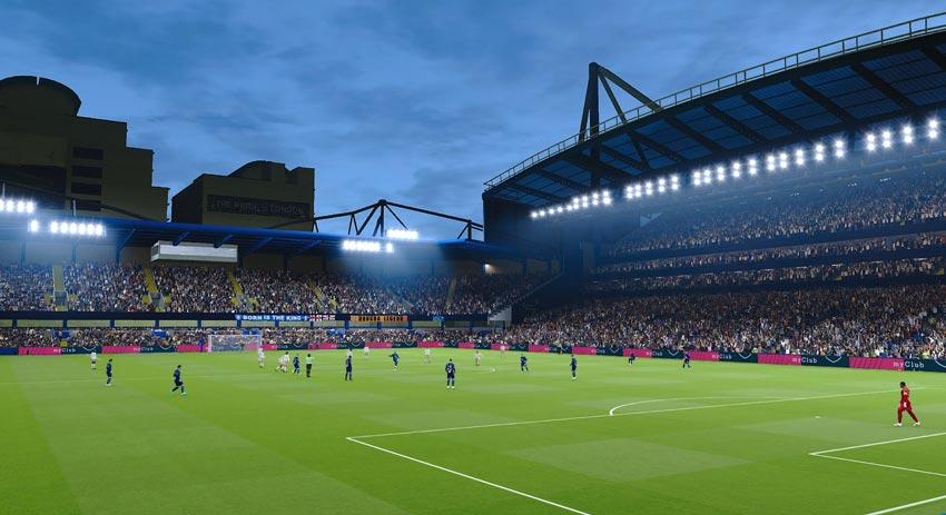 Stamford Bridge Stadium For eFootball PES 2021