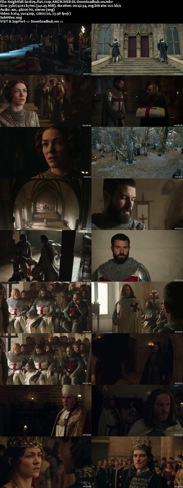 Knightfall S01E09 340MB WEB-DL 720p ESubs