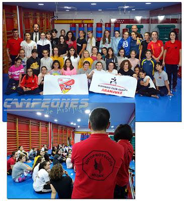 Karate Aranjuez Defensa Personal Femenina