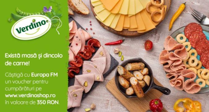 Concurs Europa FM - Castiga 1 voucher de cumparaturi pe verdinoshop.ro - concursuri - online - 2021