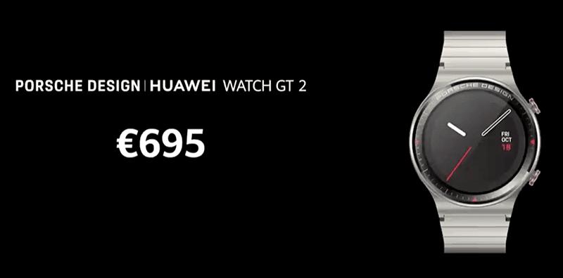 New Porsche Design Huawei Watch GT 2