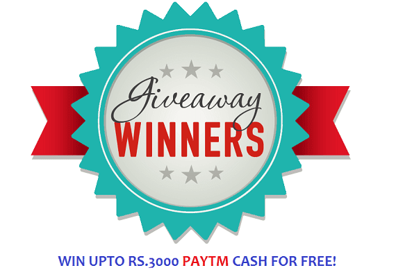 Topdealoffers.com Mega Giveaway: Win Upto Rs.3000 Paytm cash