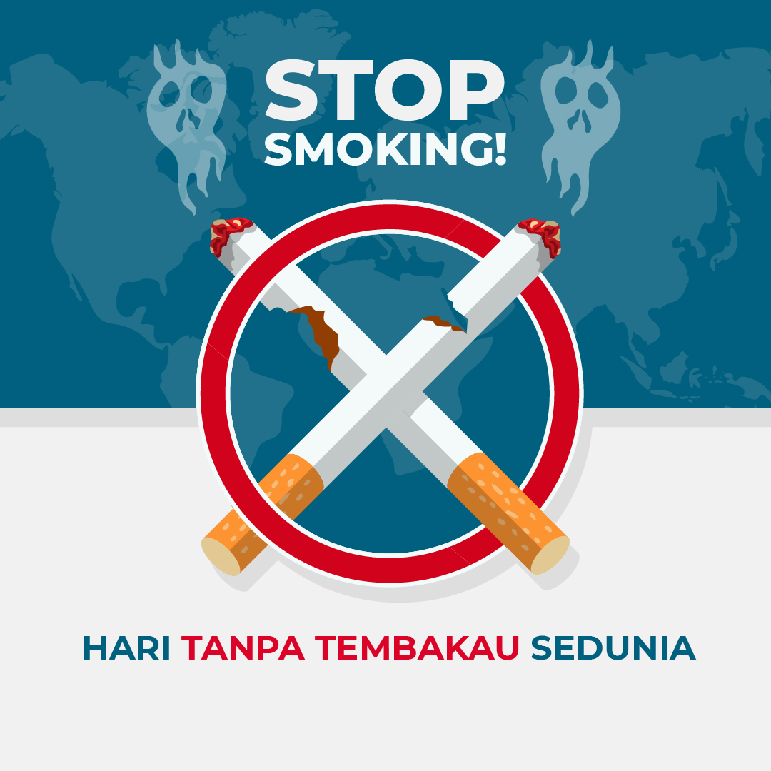 Gambar Ucapan Hari Tanpa Tembakau Sedunia 2021