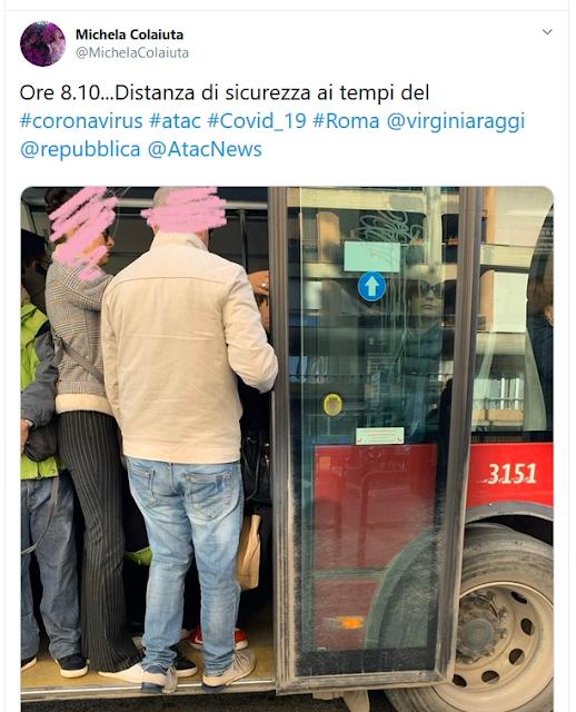 Situazione del trasporto pubblico di Roma di venerdì 6 marzo