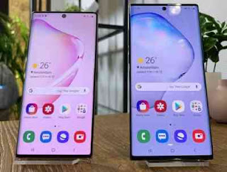 Spesifikasi Samsung Galaxy Note10 dan Samsung Galaxy Note10+