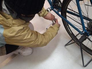 自転車整備 無料講習会