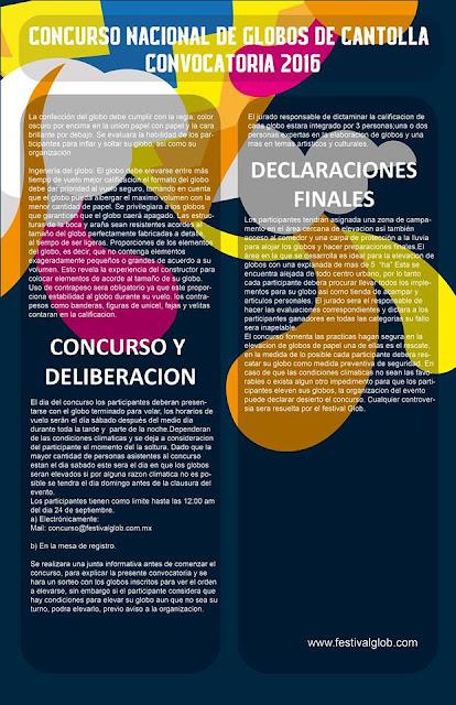 convocatoria concurso globos de cantolla 2016